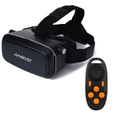 Andoer CST-09 3D VR  with MB-852 Mini Multifunctional Wireless Bluetooth V3.0 Selfie Camera Shutter Gamepad
