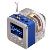 Mini Digital Portable Music MP3/4 Player TF USB Disk Speaker FM Radio