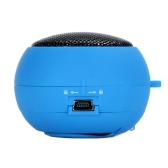 Mini Hamburger Speaker for iPhone iPad iPod Laptop PC MP3 Audio Amplifier Blue