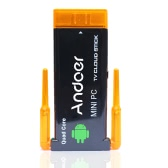 CX919 Android 4.2 Mini PC Box TV Stick Quad Core 2G/8GB Bluetooth Dual External WiFi Antenna 1080P