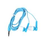 Stylish In-Ear Stereo Earphone Earbud Headphone for iPod iPhone MP3 MP4 Smartphone White & Blue