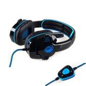 SADES SA901 7.1  Surround Sound USB Gaming Game Headphone Headset Mic Remote for PC Laptop