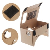 "DIY Google Cardboard Virtual Reality VR Mobile Phone 3D Viewing Glasses for 5.0"" Screen"