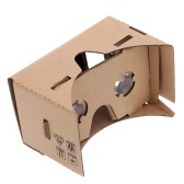 "DIY Google Cardboard Virtual Reality VR Mobile Phone 3D Viewing Glasses for 4.5"" Screen"