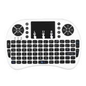 Backlit 2.4GHz Wireless Keyboard Air Mouse Touchpad Handheld Remote Control Backlight White