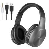 EDIFIER W806BT Auriculares inalámbricos Bluetooth negro con gris