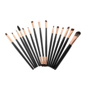 15pcs Professional Makeup Brush Set Cosmetic Brushes Foundation Make Up Eyeshadow Brush Mascara Lip Brushes Eyebrow Makeup Tool Kit