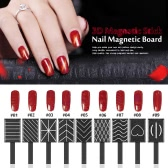 11 Pieces/set 3D Magnet Stick Magnetic Cat Eye Pen Drawing Vertical Stick For Nail Gel Polish Magical Nail Tools