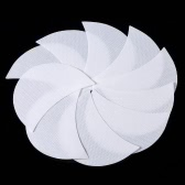 50Pcs Eyelash Pads Disposable Eye Shadow Shields Protector Pad Under Eye Stickers Eyes Lips Makeup Application Tool