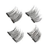 European and American Hot Style 3D Magnetic False Eyelashes With No Need for Glue Double Magnet