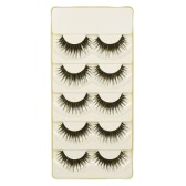 5 Pairs False Eyelashes Long Black Natural Crisscross 3D Eyelashes Extention Fake Eyelashes Makeup