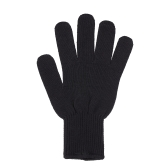 1Pc Professional Heat Resistant Glove Hair Styling Heat Blocking Tool For Curling Straight Flat Iron Suit for Left Right Hand Black
