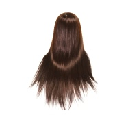 Manikin Hair Training Head Dummy Model with Thick 22inch Long Hair Dolls Mannequin for Hairdressers Hairdressing with Clamp