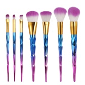5Pcs Makeup Brushes Set Cosmetic Brush Kit Gradient Color Eyeshadow Powder Concealer Foundation Blush Brush Beauty Tool