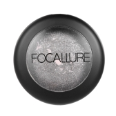FOCALLURE 1Pc Baked Eyeshadow Palette Women Cosmetic Neutral Warm Eye Shadow Palette Eye   Makeup Palette
