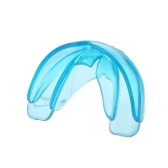 1Pc Orthodontic Trainer Teeth Tooth Alignment Appliance Mouthpieces Brace Dental Tray Mouthguard Blue Silicone With Box