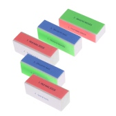 5pcs Nail Art Files Nail Buffer Block Polishing Tool Manicure File Professional Nail Shiner Nail Salon Tool