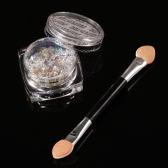 Chameleon Nail Sequins #1 Glitter Nail Art Transparent Paillette Manicure Decorations Nail Art Glitter Powder With Brush