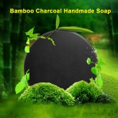 Bamboo Charcoal Handmade Soap Skin Whitening Cleansing Soap Blackhead Acne Remover Oil Control 40g Skin Care Treatment