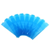 200Pcs Tattoo Disposable Cover Tattoo Machine Clip Cord Sleeve Cover Bag for Tattoo Machine Plastic Blue