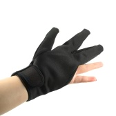 Hairdressing Three Fingers Glove Heat Resistant Glove Hair Straightening Curling Finger Glove Hair Styling Accessories Black