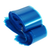 100Pcs Clip Cord Sleeves Bags Disposable Covers for Tattoo Machine Plastic Blue