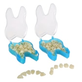 2packs Pro Dental Temporary Crown Dental Materials Anteriors Front & Molar Posterior Nature Color Teeth Dentist Products