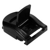 Portable Plastic Eyelash Curler Eye Lashes Curling Clip Rubber Pad Makeup Tool Transparent Color