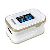 Portable Digital Oximeter Blood Oxygen Sensor OLED Display SpO2 Fingertip Pulse Auto Power off Instant Read Saturation Heart Rate Monitor Meter
