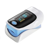 Portable SpO2 Fingertip Pulse Instant Read Digital Oximeter Blood Oxygen Sensor Saturation Monitor Meter OLED Display Auto Power off