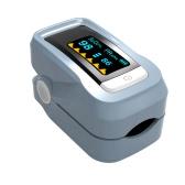 Alarm Digital Oximeter Blood Oxygen Sensor Fingertip Pulse Heart Rate Monitor Meter OLED Display SpO2 Auto Power off Instant Read Saturation