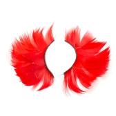 1 Pair Fashion Feather False Eyelashes Set Handmade Fake for Your Eyes Lashes Extension