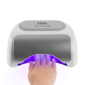 48W LED UV Lamp Professional Nail Dryer Machine LED Nail Lamp Fingernails Toenails Curing Soak Off Gel and Nail Gel Equipment Nail Art Tool EU Plug