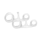 1 Pair Toes Separators Hallux Valgus Overlapping Correction Separation Spacers Yoga Hammer Toe Stretchers Silicone
