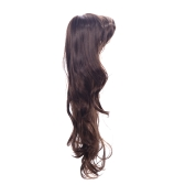 80cm Fashion Hair Cosplay Party Brown Wig Women
