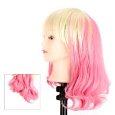 Long Straight Curly Tail Cosplay Party Hair Beauty Style Wig Sweet Pear Flower Wigs
