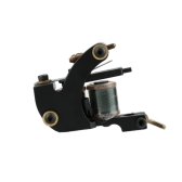 Imported Black Bat Coil Tattoo Machine Tattto Liner 10 Wrap Coils