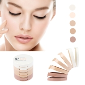 MUSIC FLOWER Makeup Concealing Shading Powder 5 Colors with Powder Puff
