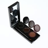 MUSIC FLOWER Makeup Eyebrow & Eyeliner Gel Cream 3 Colors with Brush
