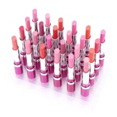 24Pcs Waterproof Matte Lipsticks Lip Balms Long Lasting 12 Colors