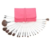 Abody 24Pcs Makeup Brushes Kit Professional Cosmetic Makeup Set Brushes Set Wood Handle Superfine Fibre Brush+ Pouch Bag Case