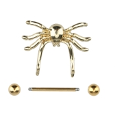 Nipple Ring Body Piercing Jewelry PA Ring Spider Style