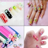 Colorfull Women Lady Girl Nail Art Stickers Butterfly Shape Nail Tips DIY Decorations