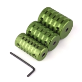 3 Pcs Aluminum Alloy Grip Tube Kit Set for Machine Gun