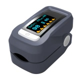 Alarm Digital Oximeter Blood Oxygen Sensor Fingertip Pulse Heart Rate Monitor Meter OLED Display SpO2 Auto Power off Instant Read Saturation