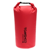 TOMSHOO 10L / 20L Outdoor Water-Resistant Dry Bag Sack Storage Bag