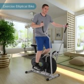 2 in 1 Exercise Bike Height Adjustable Elliptical Machine