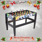 "Lixada 48"" Table Football Soccer Game Room Table Kicker Baby-foot Assembled Table Foosball Competition Family Club Sport Game Pubs Workplaces Schools"
