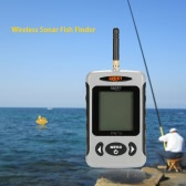 Portable Professional Sounder Wireless Sonar Fish Finder Fishing Probe Detector Fishfinder with Dot Matrix