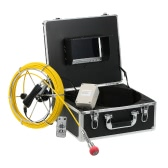 "7"" LCD Monitor 960TVL CCD Pipeline Inspection Camera Waterproof Drain Pipe Sewer Inspection Camera Industrial Endoscope Baroscope Inspection System with 20m / 30m / 40m / 50m Cable"